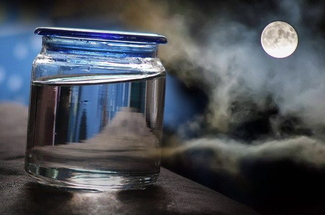 How to Make, Use, & Store Moon Water