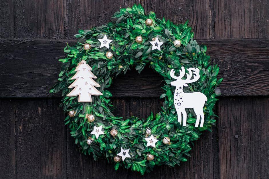 Yule Christmas wreath